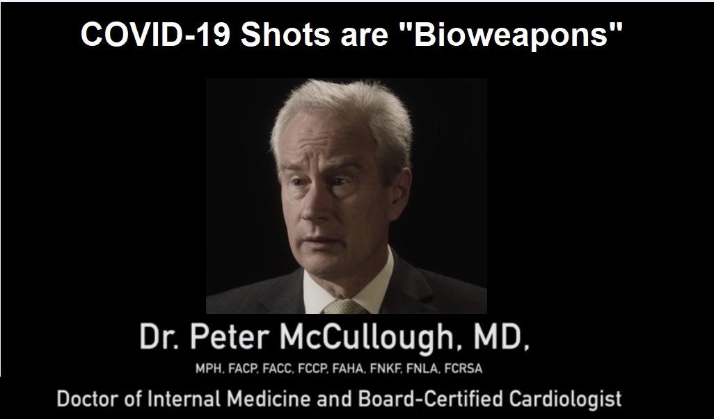 Biological Death Through Vaccination, Peter McCullough, MD, MPH Explains